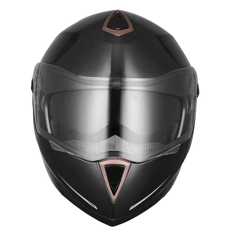 DOT-Flip-up-Modular-Full-Face-Motorcycle-Helmet-Dual-Visor-Motocross-Size-Opt thumbnail 14
