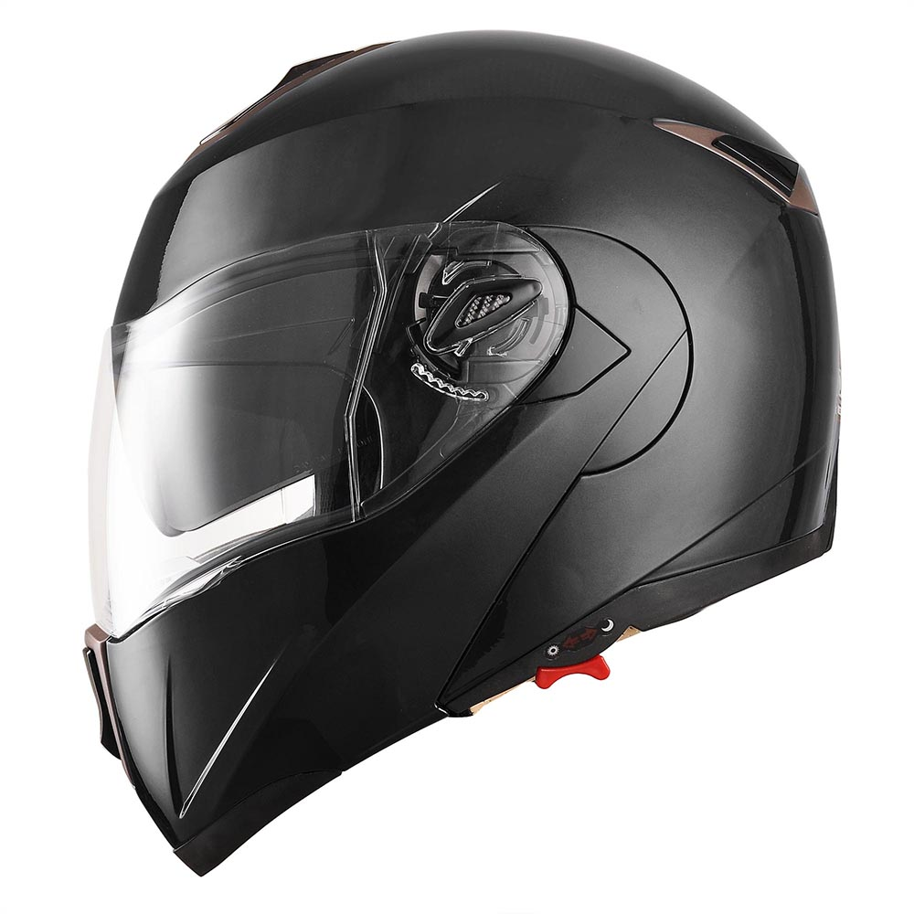 DOT-Flip-up-Modular-Full-Face-Motorcycle-Helmet-Dual-Visor-Motocross-Size-Opt thumbnail 15