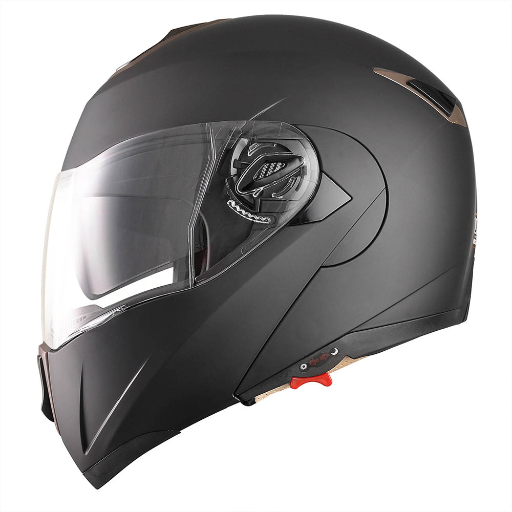 DOT-Flip-up-Modular-Full-Face-Motorcycle-Helmet-Dual-Visor-Motocross-Size-Opt thumbnail 35