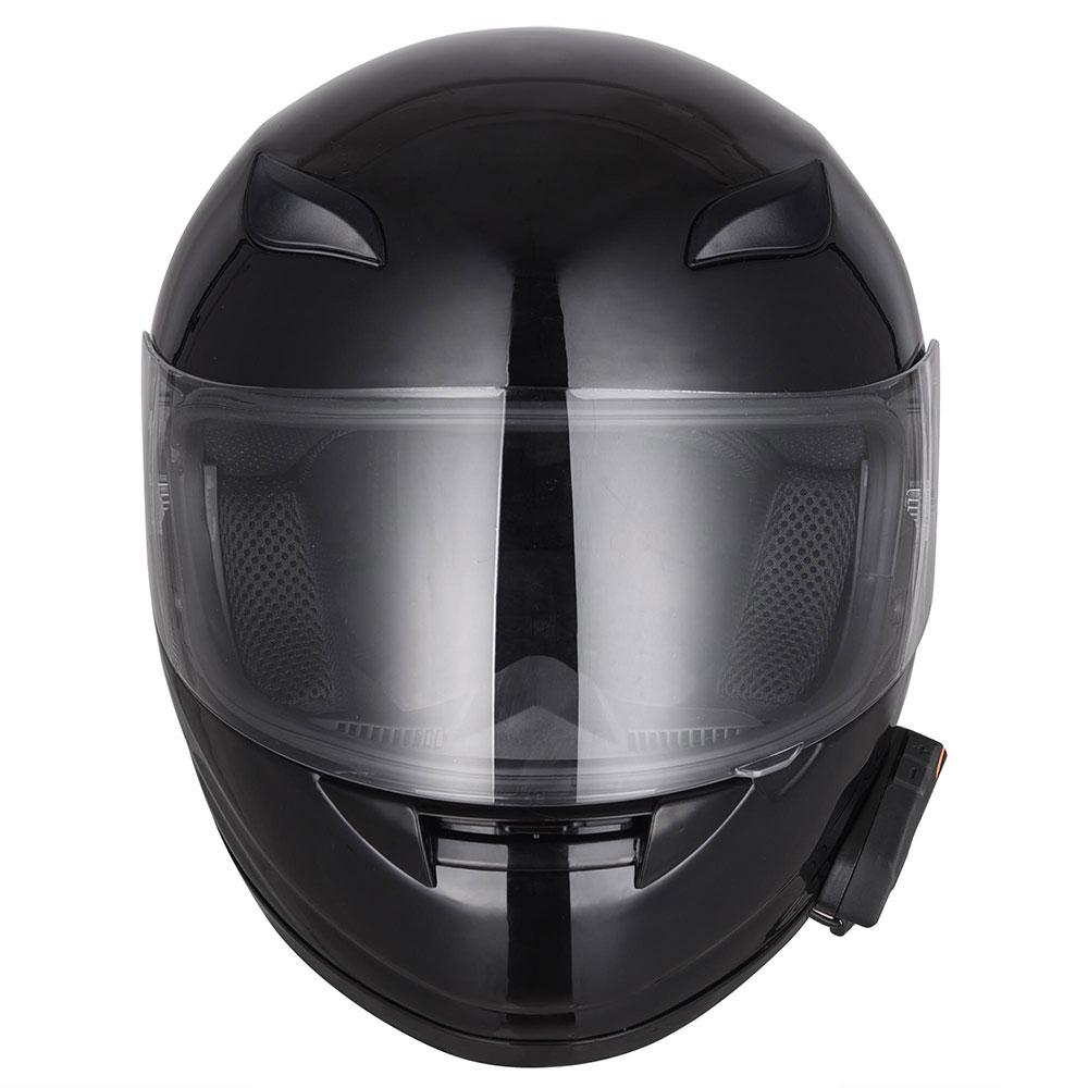DOT-Motorcycle-Full-Face-Adult-Helmet-Size-M-XL-w-Bluetooth-Wireless-Headset thumbnail 5
