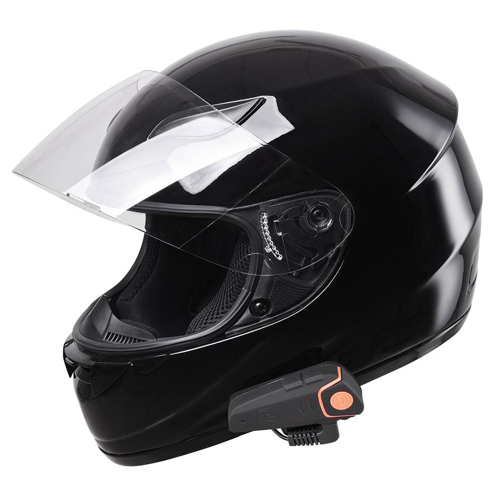 DOT-Motorcycle-Full-Face-Adult-Helmet-Size-M-XL-w-Bluetooth-Wireless-Headset thumbnail 7