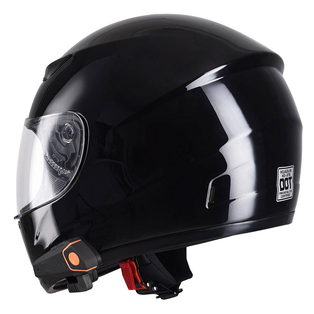 DOT-Motorcycle-Full-Face-Adult-Helmet-Size-M-XL-w-Bluetooth-Wireless-Headset thumbnail 6