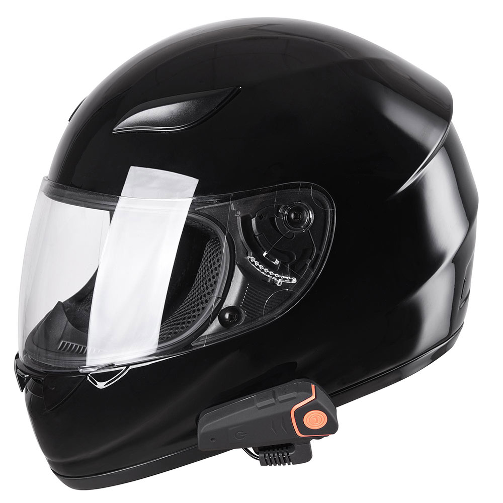 DOT-Motorcycle-Full-Face-Adult-Helmet-Size-M-XL-w-Bluetooth-Wireless-Headset thumbnail 14