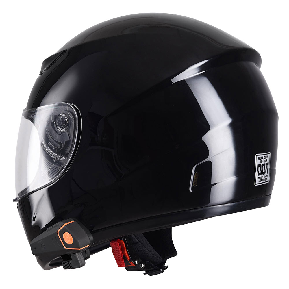 DOT-Motorcycle-Full-Face-Adult-Helmet-Size-M-XL-w-Bluetooth-Wireless-Headset thumbnail 16
