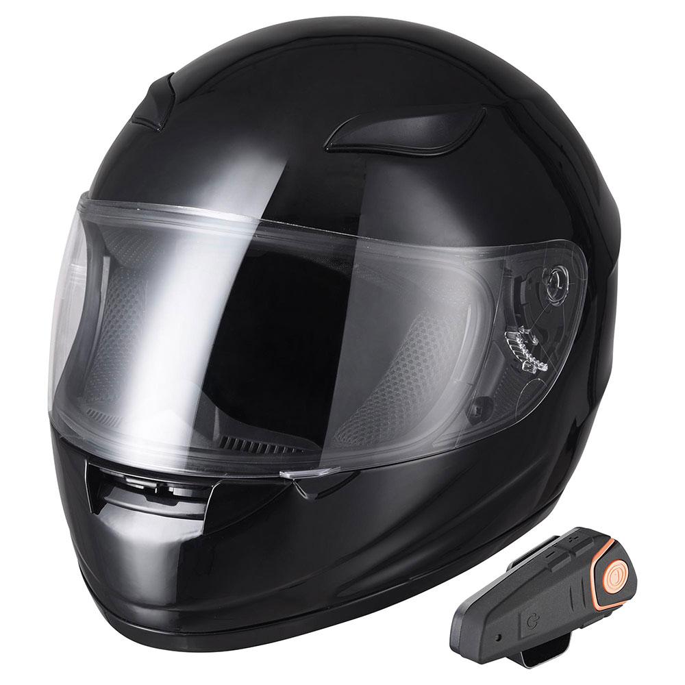 DOT-Motorcycle-Full-Face-Adult-Helmet-Size-M-XL-w-Bluetooth-Wireless-Headset thumbnail 19