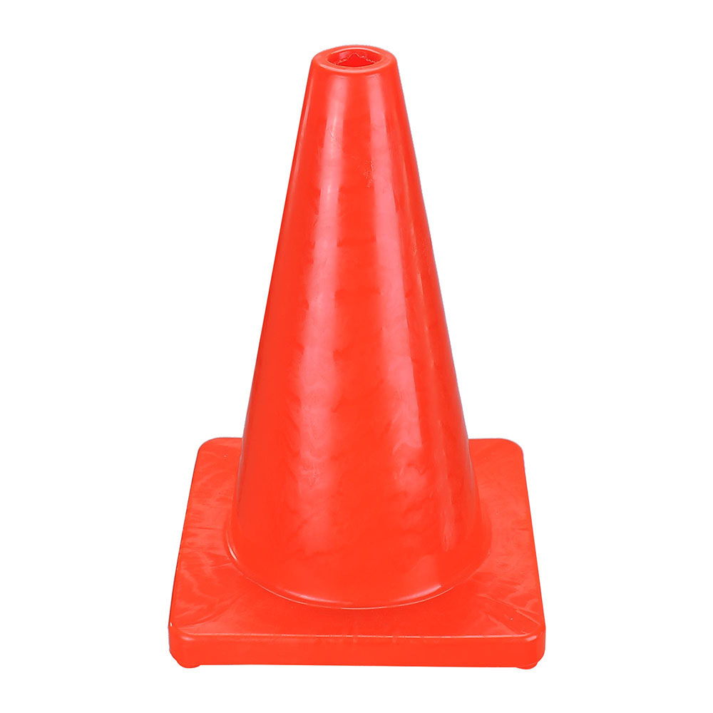 6 New 18 Quot Reflective Red Wide Body Safety Cones Construction Traffic Sports Ebay
