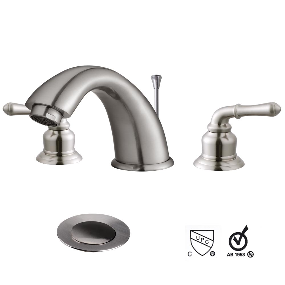 plumbing bathroom sink drain 3 holes widespread bathroom vessel sink lavatory faucet w 20008