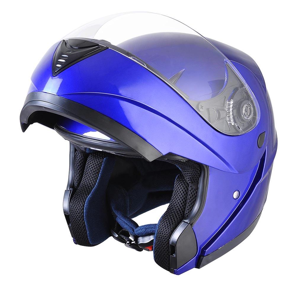 Flip-Up-Front-Modular-Full-Face-Helmet-ECER-22-05-Motorcycle-Motorbike-S-M-L-XL thumbnail 16