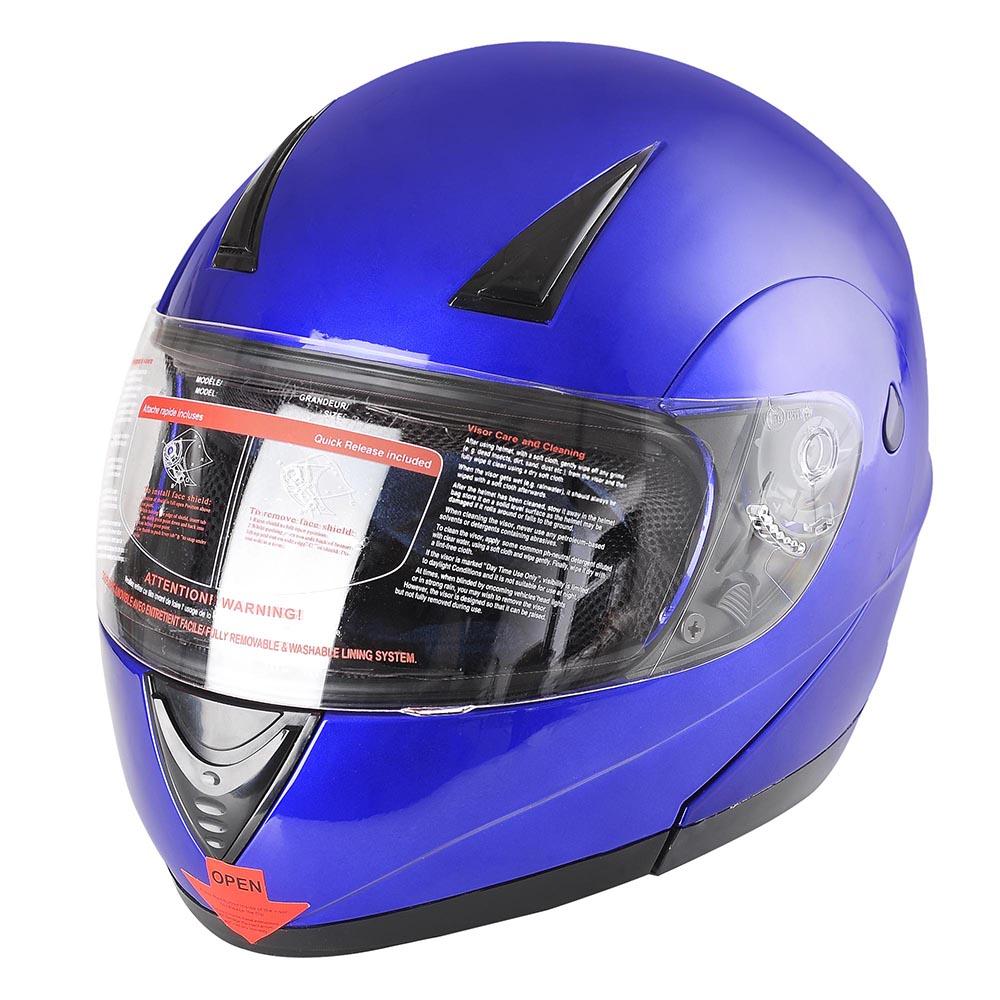 Flip-Up-Front-Modular-Full-Face-Helmet-ECER-22-05-Motorcycle-Motorbike-S-M-L-XL thumbnail 22