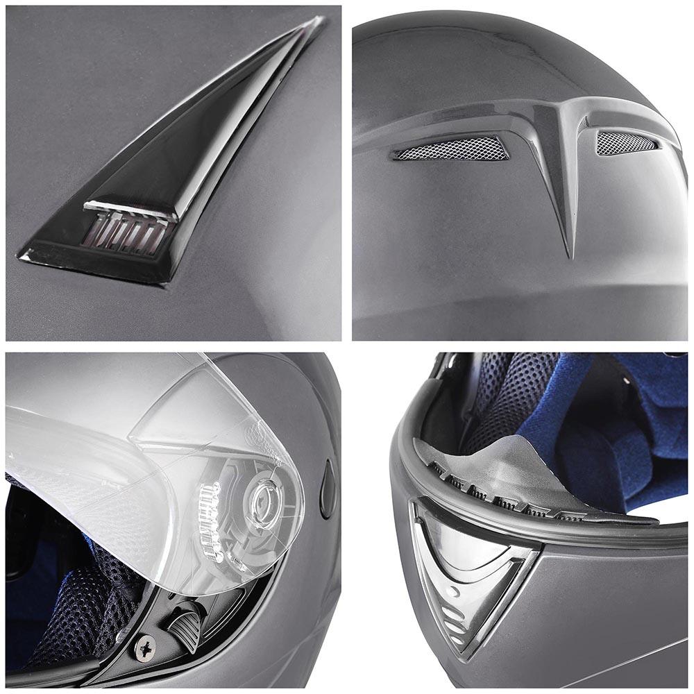 Flip-Up-Front-Modular-Full-Face-Helmet-ECER-22-05-Motorcycle-Motorbike-S-M-L-XL thumbnail 80