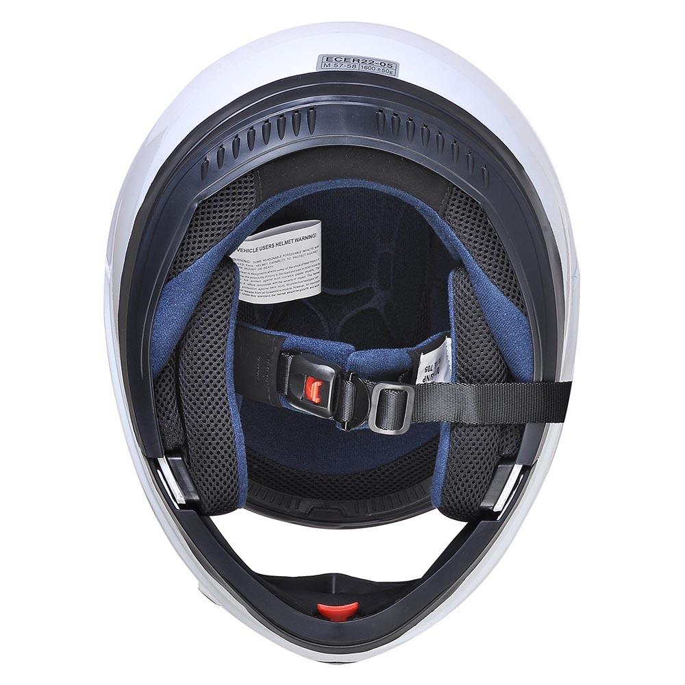 Flip-Up-Front-Modular-Full-Face-Helmet-ECER-22-05-Motorcycle-Motorbike-S-M-L-XL thumbnail 69