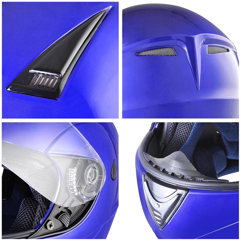 Flip-Up-Front-Modular-Full-Face-Helmet-ECER-22-05-Motorcycle-Motorbike-S-M-L-XL thumbnail 100
