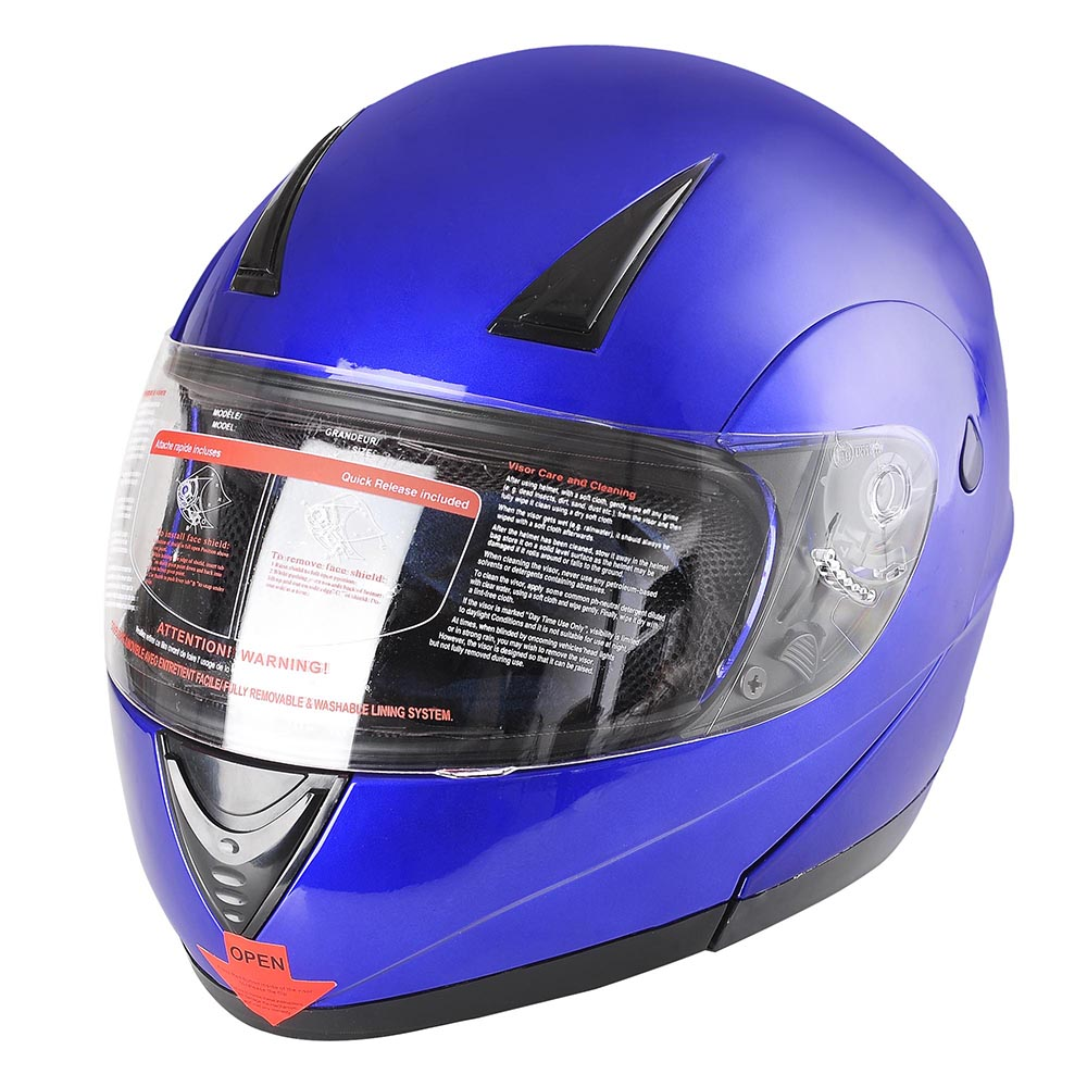 Flip-Up-Front-Modular-Full-Face-Helmet-ECER-22-05-Motorcycle-Motorbike-S-M-L-XL thumbnail 102