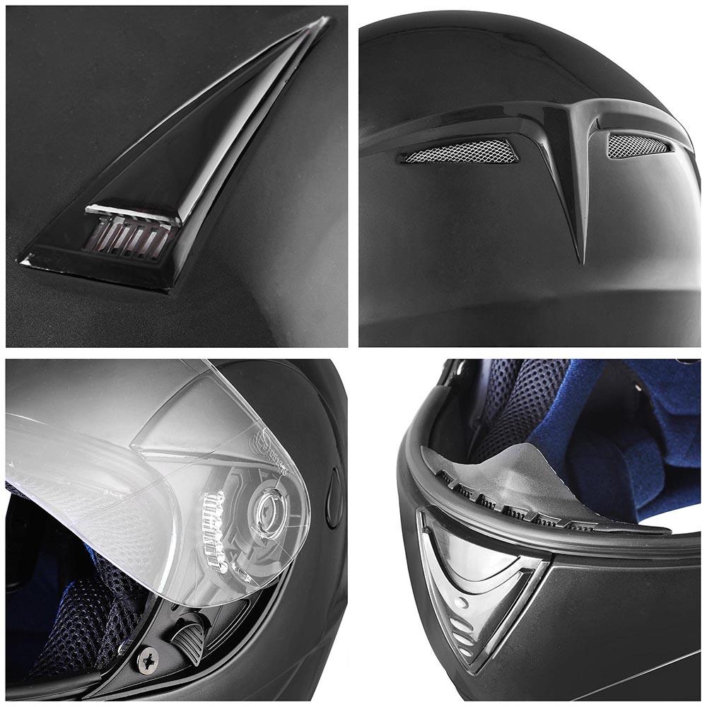Flip-Up-Front-Modular-Full-Face-Helmet-ECER-22-05-Motorcycle-Motorbike-S-M-L-XL thumbnail 130