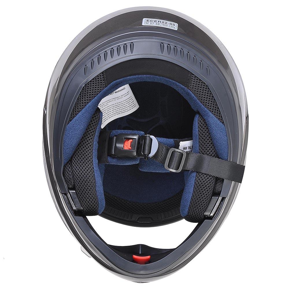 Flip-Up-Front-Modular-Full-Face-Helmet-ECER-22-05-Motorcycle-Motorbike-S-M-L-XL thumbnail 160