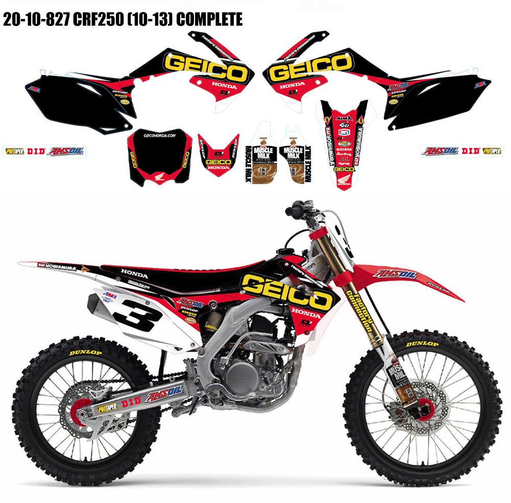 D'COR GEICO HONDA FULL GRAPHICS & TRIM KIT