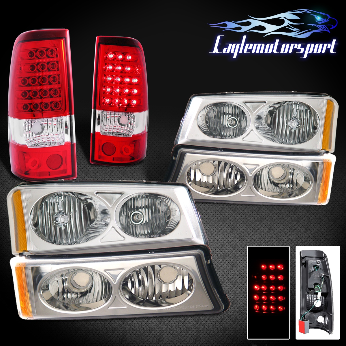 2003 2004 2005 2006 chevy silverado avalanche headlights. Black Bedroom Furniture Sets. Home Design Ideas