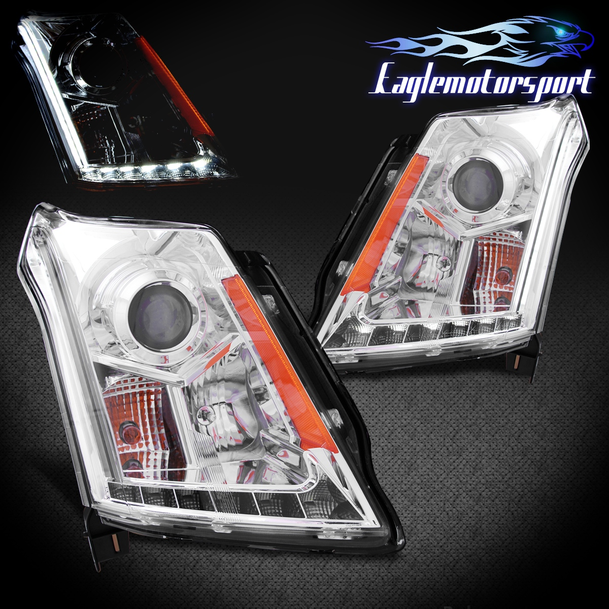[LED Light Bar] 2010 2011 2012 2013 2014 Cadillac SRX LED