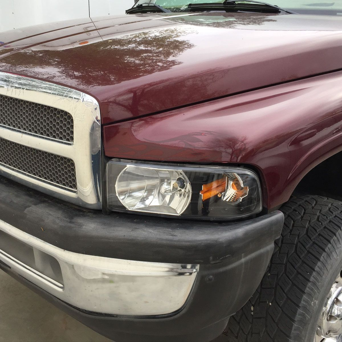 Az Dr B A on 1995 Dodge Ram 1500 Headlights