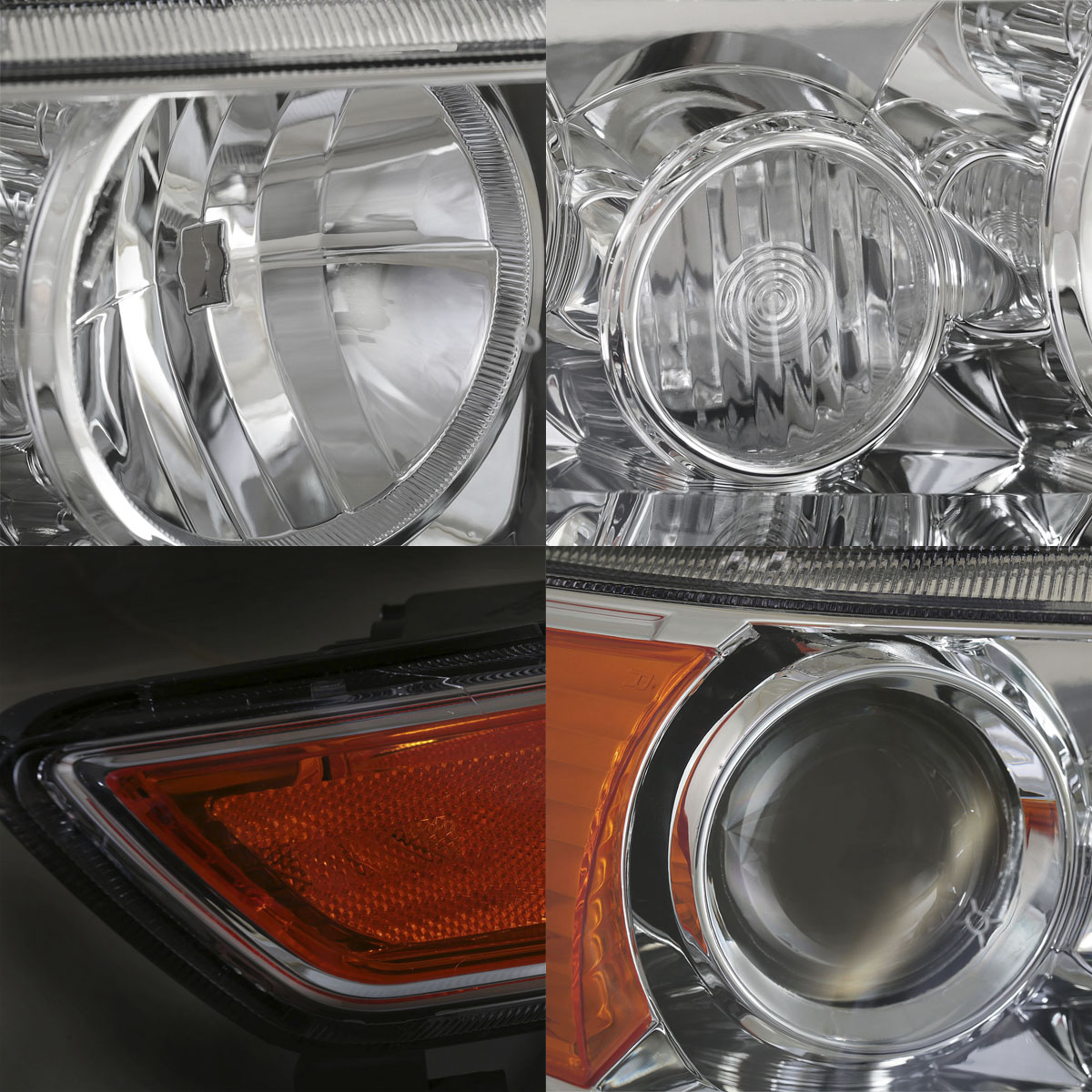2004-2008 Acura TSX Chrome Factory Style Projector