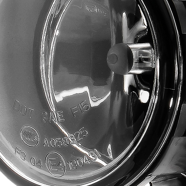 For 2016 2017 Honda Pilot Glass Lens Bumper Driving Fog Lights w//Switch+Bulbs