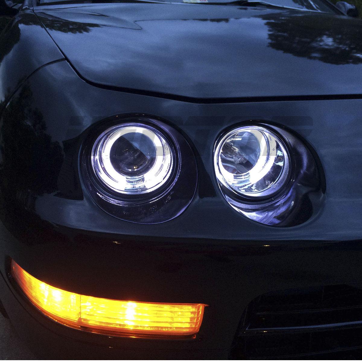[Dual LED Halo]1994 1995 1996 1997 Acura Integra Chrome