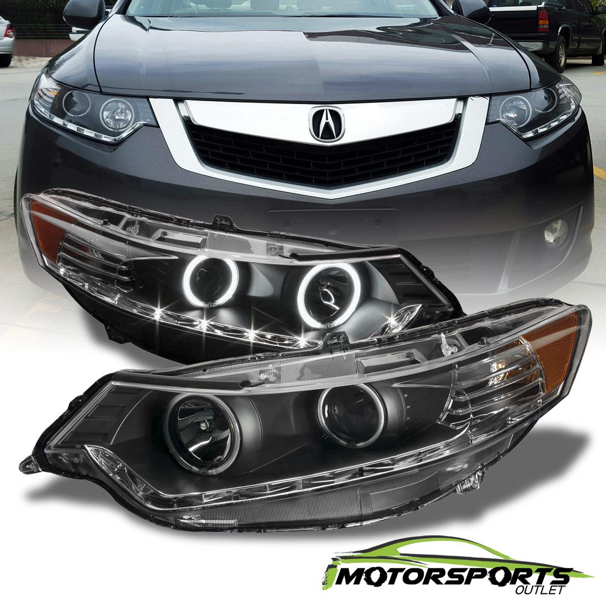 [Dual CCFL Halo]2009 2010 2011 2012 2013 2014 Acura TSX