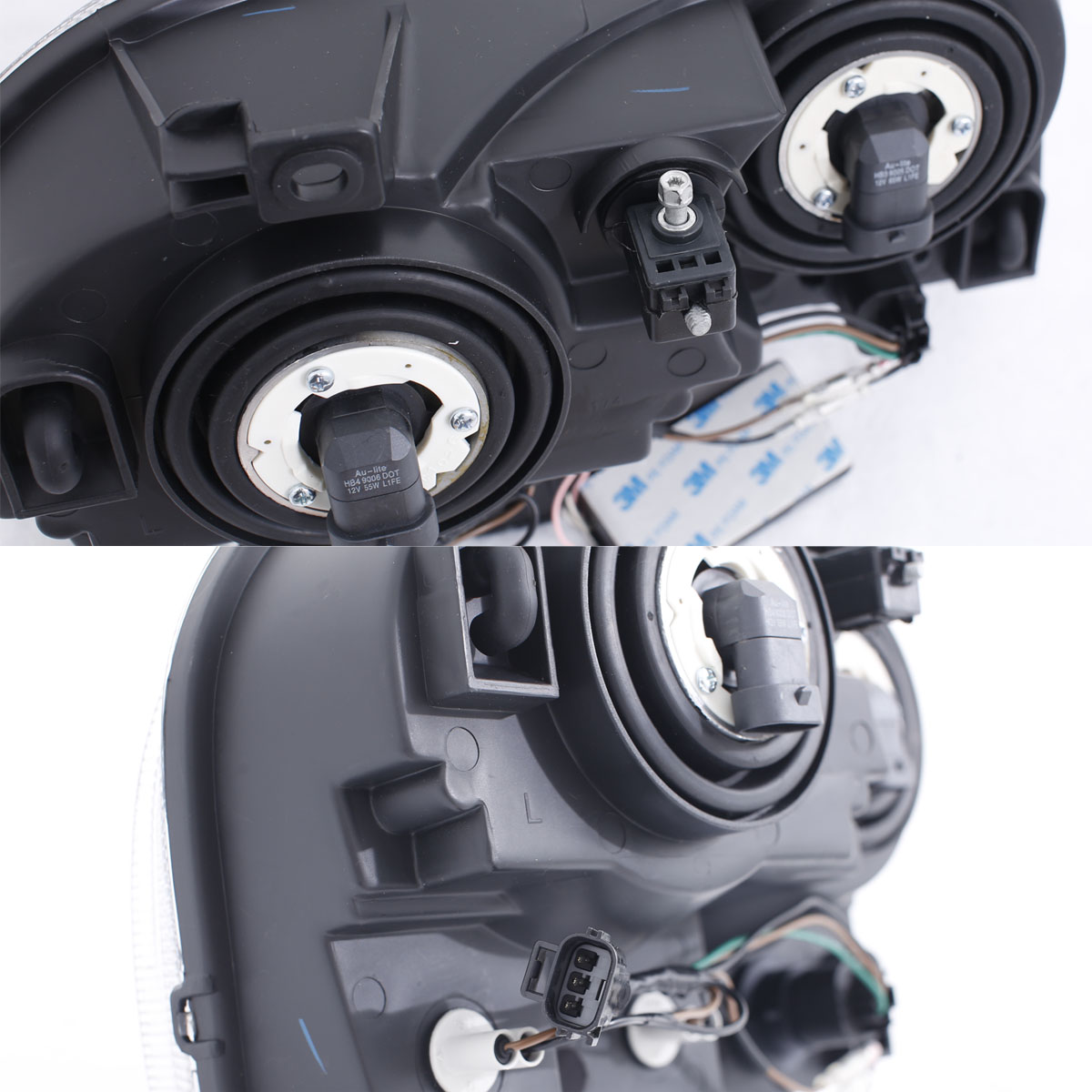 Black 2005 2006 2007 2008 2009 2010 Chrysler 300c: [Dual CCFL Halo] 2005 2006 2007 2008 2009 2010 Chrysler