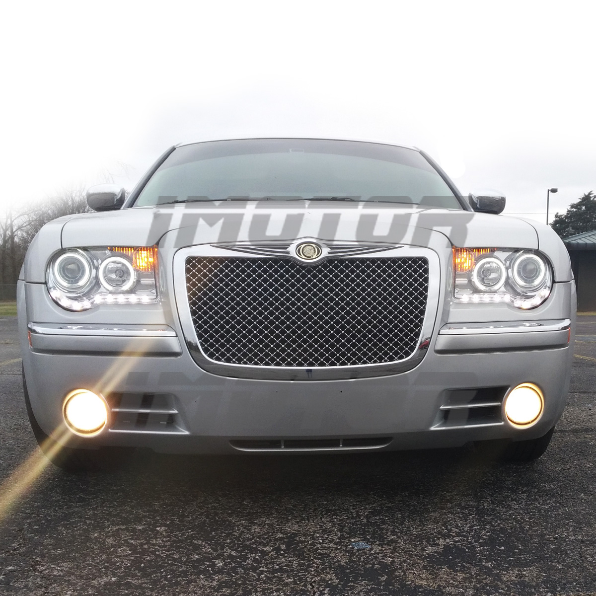 [Dual CCFL Halo] 2005-2010 Chrysler 300C LED Projector