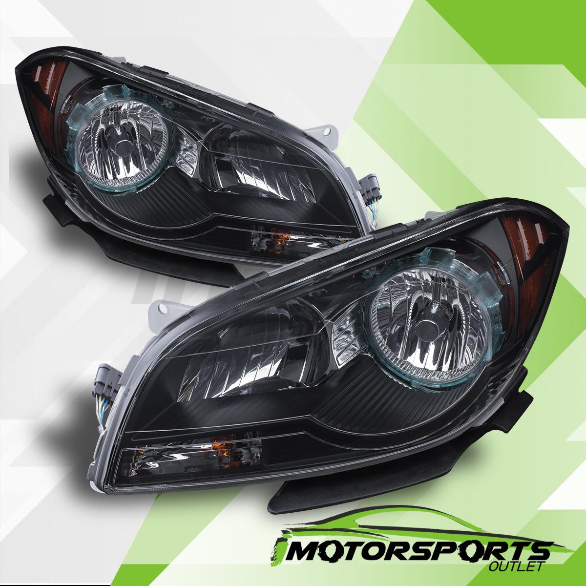 Chevy Malibu Front Lights: 2008 2009 2010 2011 2012 Chevy Malibu Factory Style Black