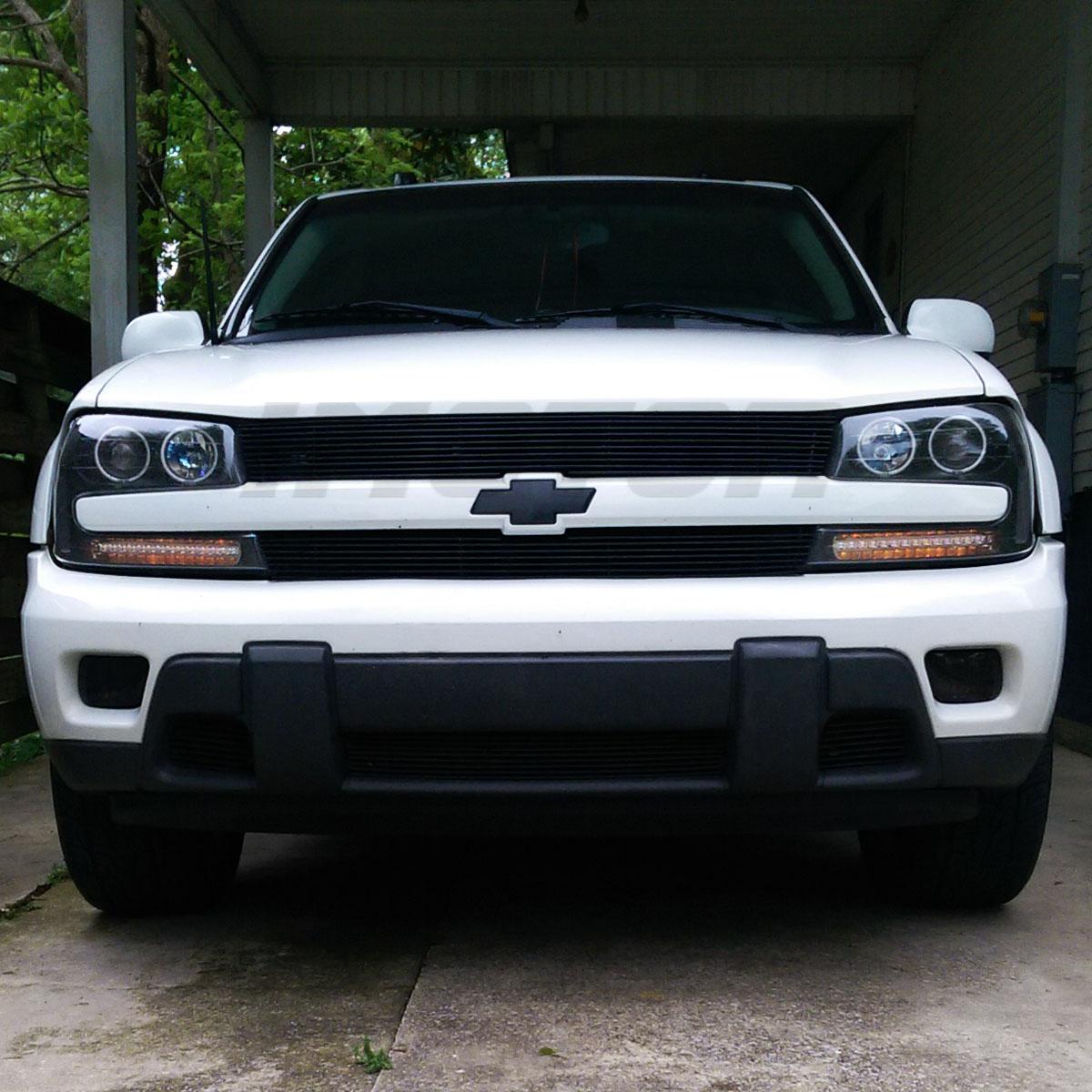 CCFL Halo] 2002-2009 Chevrolet Chevy Trailblazer Projector Black ...