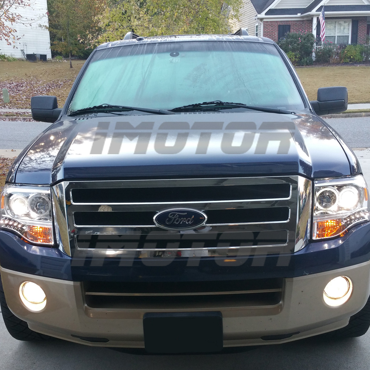 2009 Ford Expedition Exterior: [Dual CCFL Halo] 2007-2014 Ford Expedition Chrome LED