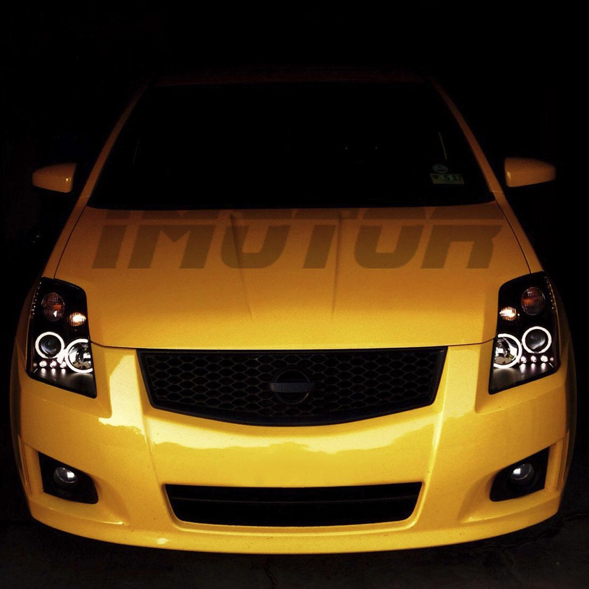 07 Nissan Maxima >> [Dual CCFL Halo] For 2007 2008 2009 2010 Nissan Sentra LED Projector Headlights