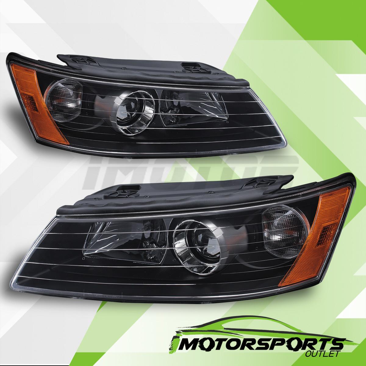 2007 Hyundai Sonata Price: For 2006 2007 2008 Hyundai Sonata Factory Style Black