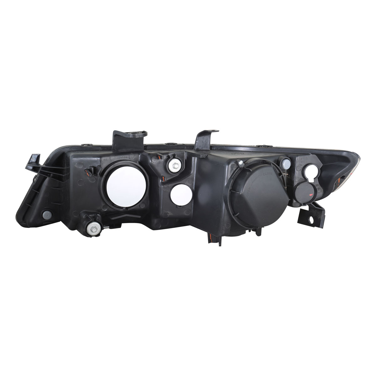 2004 2005 2006 2007 2008 Acura TSX Black Projector Factory