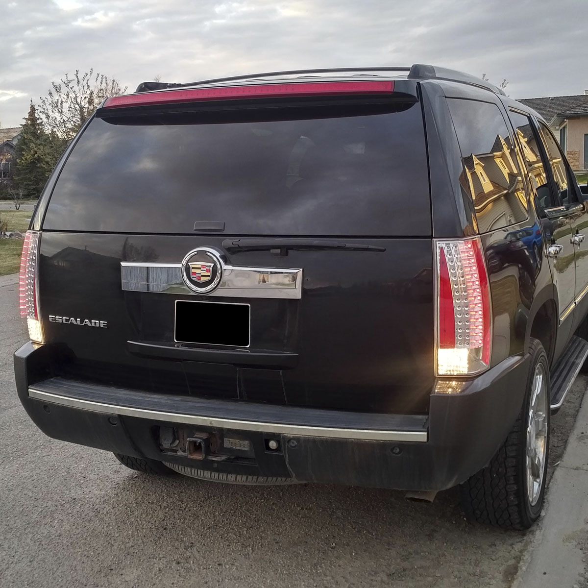 2007-2014 Cadillac Escalade ESV Chrome Euro Clear LED