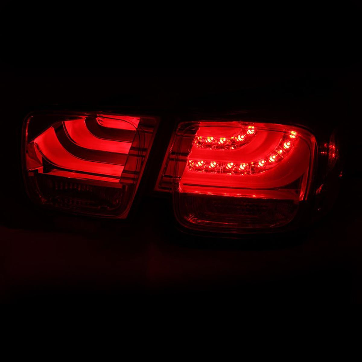 2013 2014 2015 Chevy Chevrolet Malibu LED Smoke Rear Brake