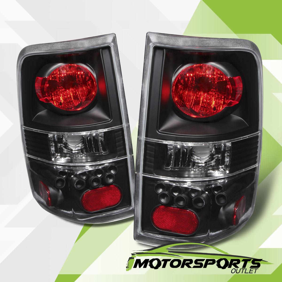 2004 2005 2006 2007 2008 ford f 150 black rear brake tail lights. Black Bedroom Furniture Sets. Home Design Ideas