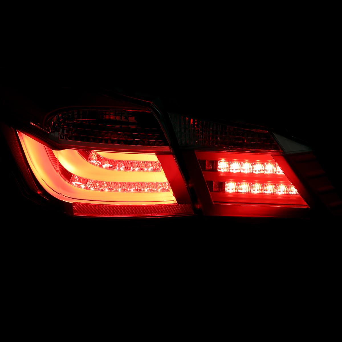 2013 2014 2015 honda accord lx ex sports sedan bmw style red led tail lights set ebay. Black Bedroom Furniture Sets. Home Design Ideas