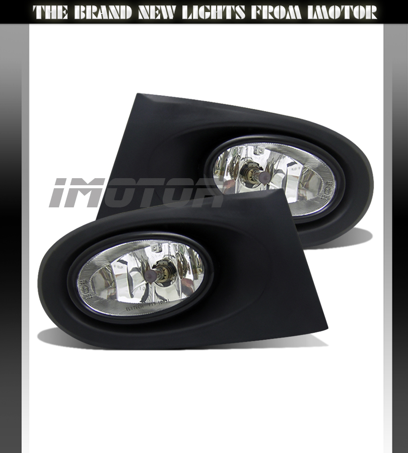 2002 2003 2004 Acura RSX DC5 JDM Clear Fog Lights Lamps W