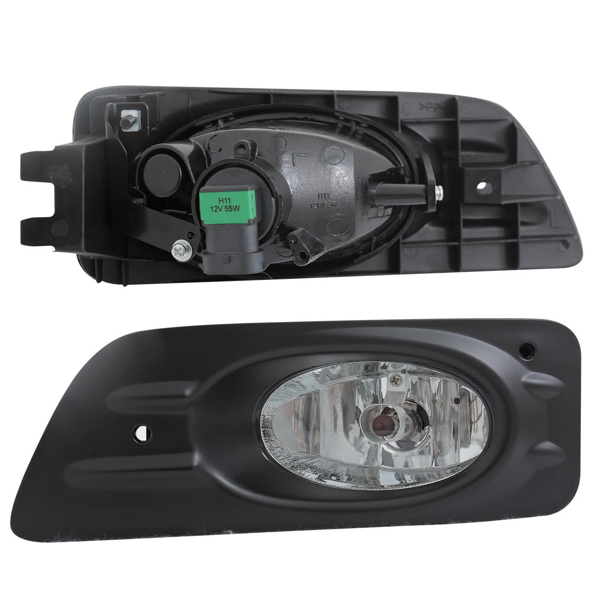 honda accord dr sedan clear bumper fog lightsw wire kit switch ebay