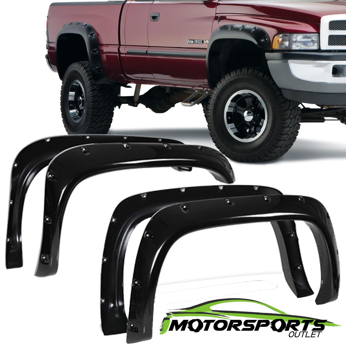 High-Qualtiy Mud Guards Fender Flares For Dodge Ram 1500 2500 3500
