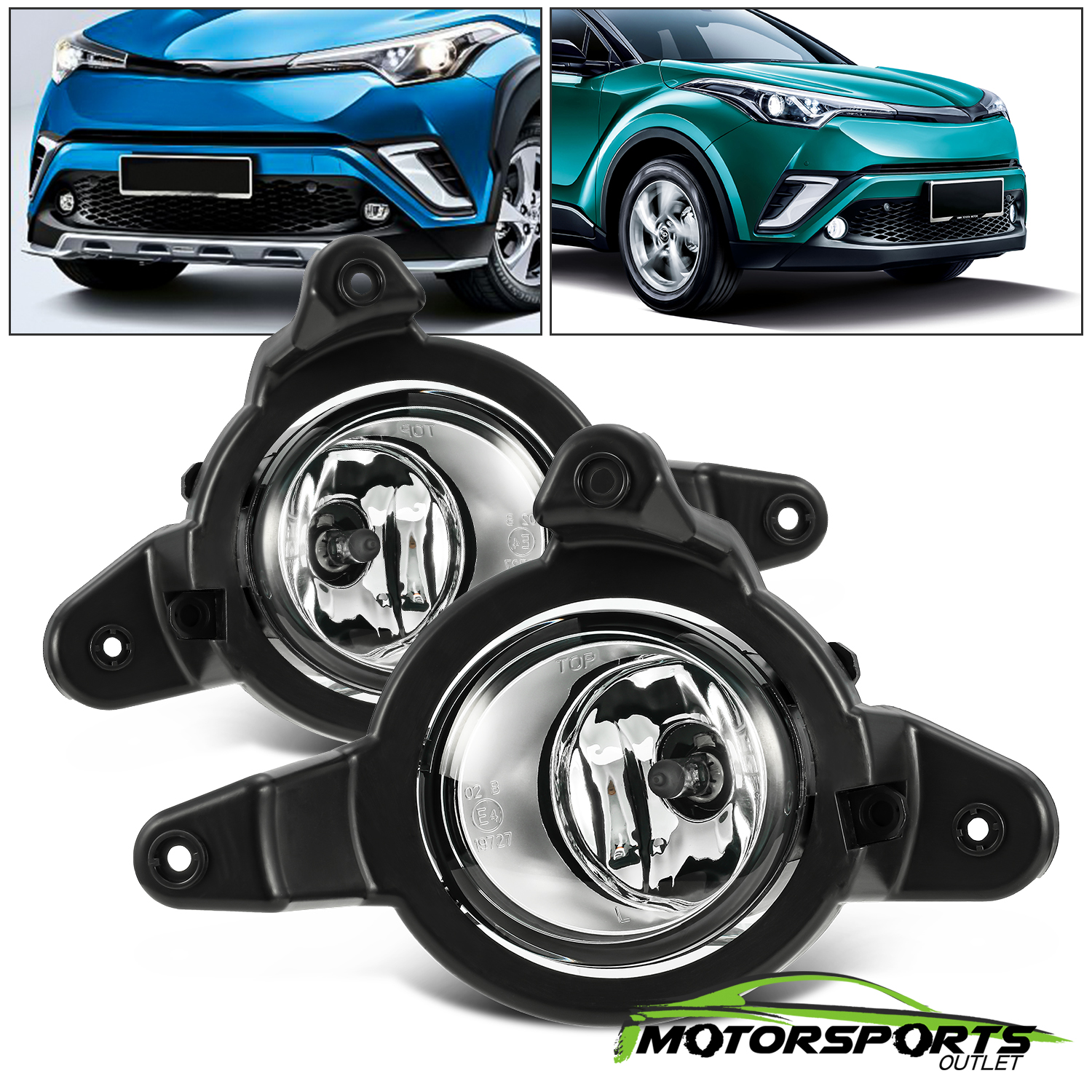 Driver side WITH install kit 6 inch 100W Halogen -Black 2012 Ford F150 Post mount spotlight