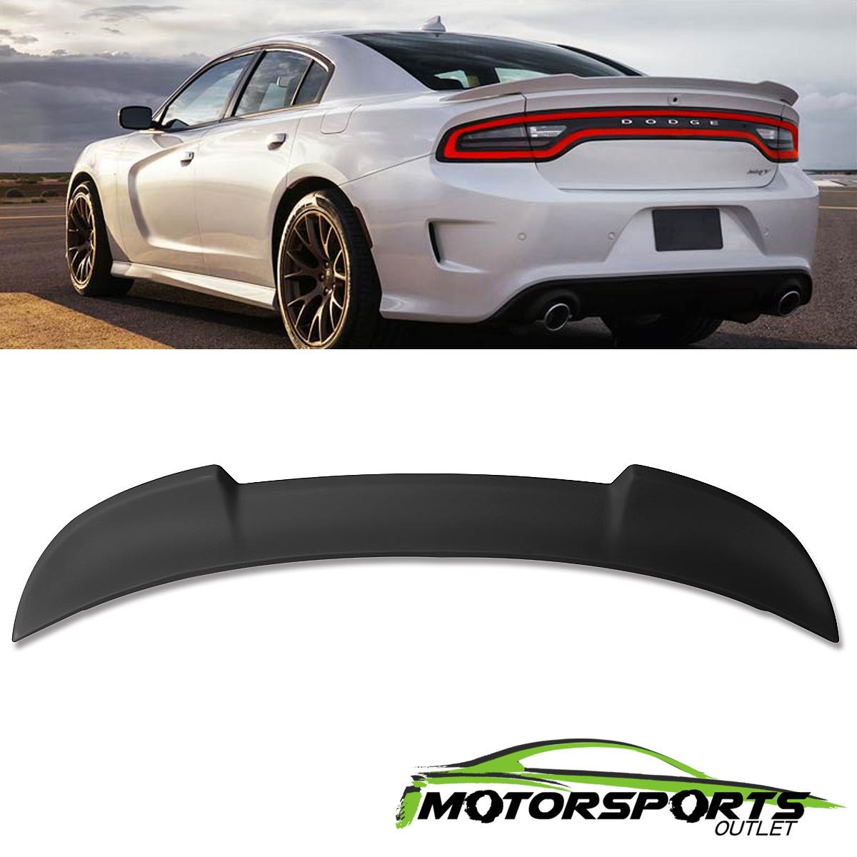 Dodge Charger SRT8 Hellcat Sedan Stock RT Type Tail Trunk Spoiler Wing For 2017