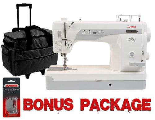 Janome 1600P-QC High-speed Straight-Stitch Sewing Machine w/ Bonus ...