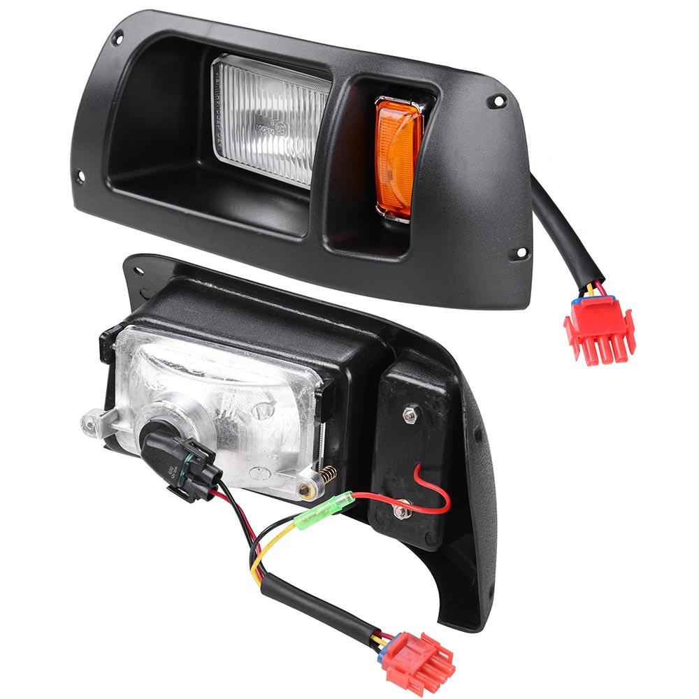 Club Car Ds Golf Cart Led Headlight  U0026 Tail Light Kit 1998