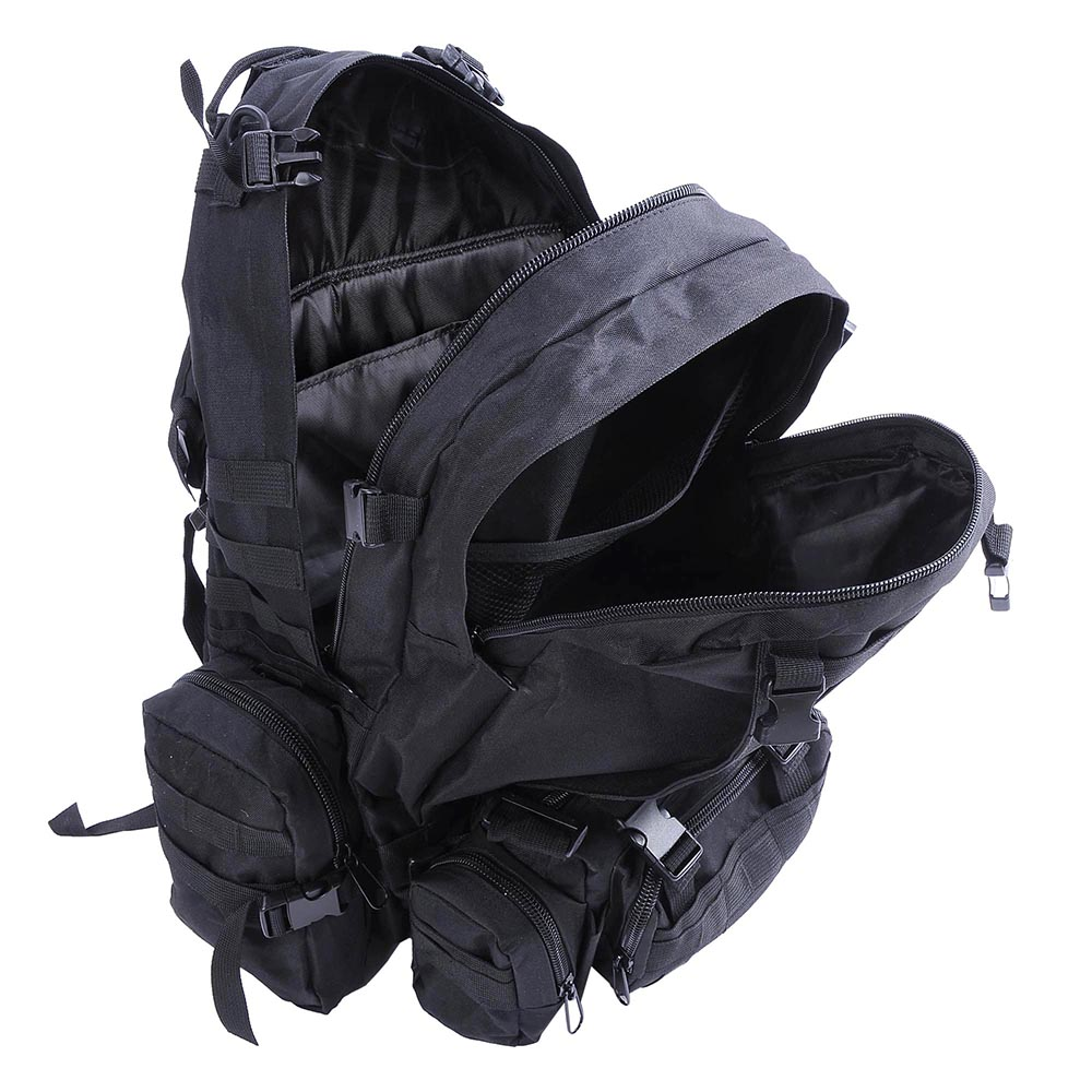 55L-Outdoor-Military-Molle-Tactical-Backpack-Rucksack-Camping-Bag-Travel-Hiking thumbnail 6