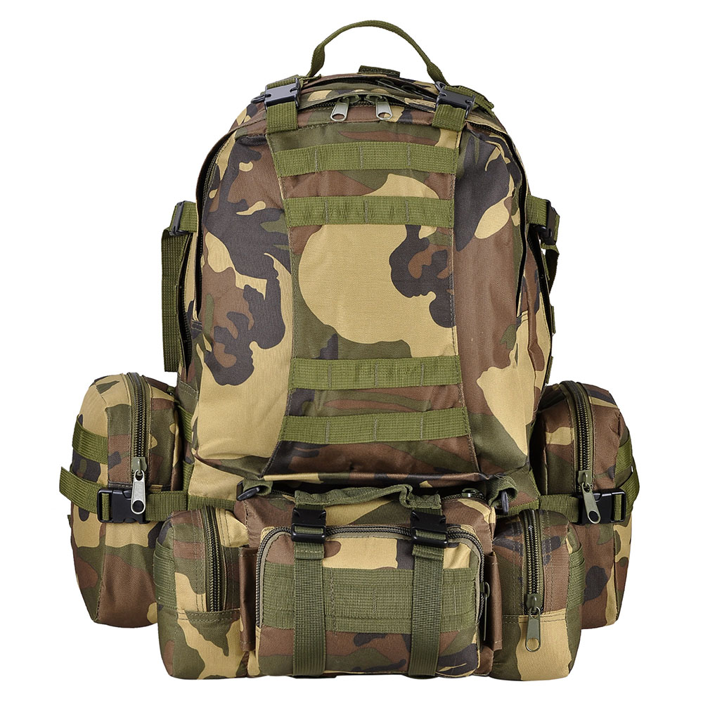 55L-Outdoor-Military-Molle-Tactical-Backpack-Rucksack-Camping-Bag-Travel-Hiking thumbnail 43