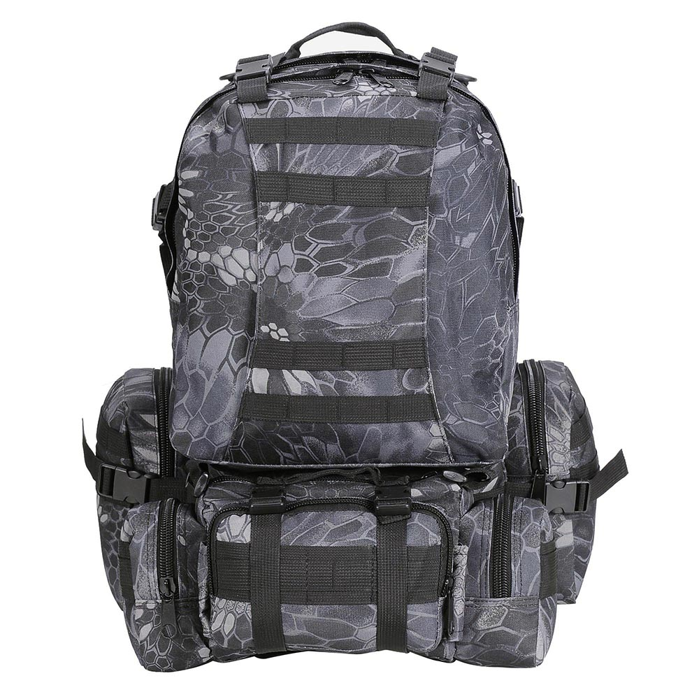 55L-Outdoor-Military-Molle-Tactical-Backpack-Rucksack-Camping-Bag-Travel-Hiking thumbnail 11