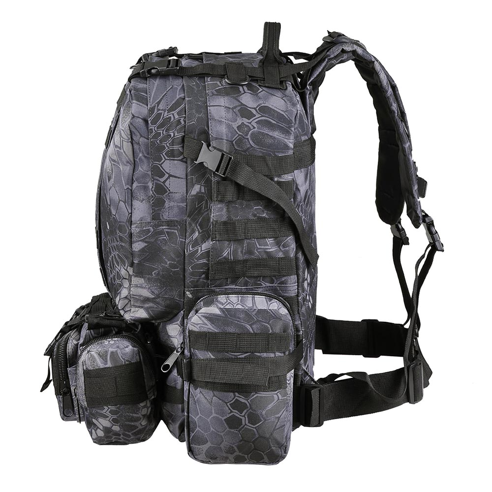 55L-Outdoor-Military-Molle-Tactical-Backpack-Rucksack-Camping-Bag-Travel-Hiking thumbnail 12